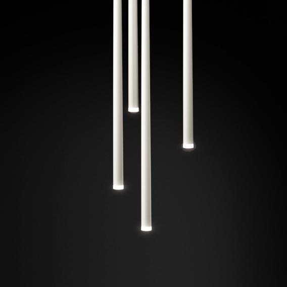 Vibia Slim LED Pendelleuchte 1-flammig, rund