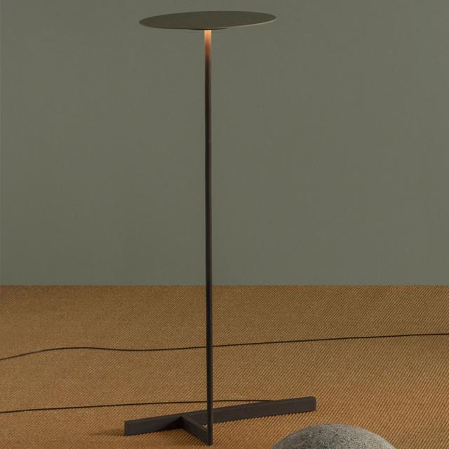 VIBIA Flat LED Stehleuchte mit Dimmer