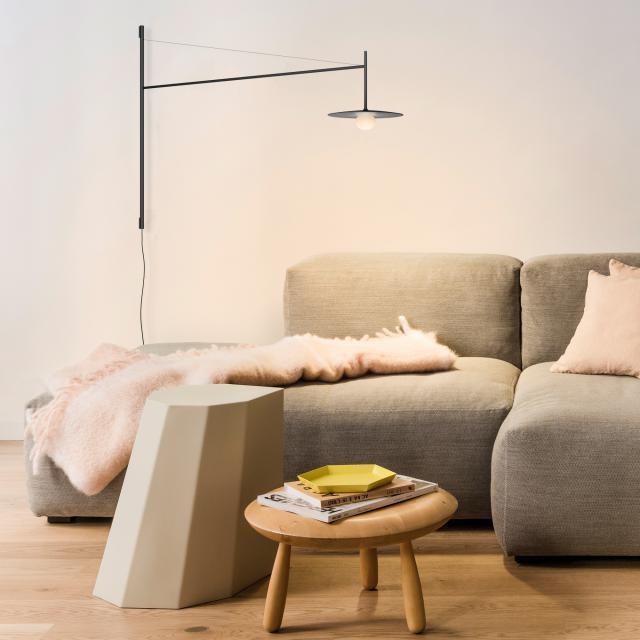 VIBIA Tempo LED Wandleuchte mit Dimmer und Zuleitung