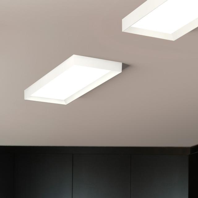 VIBIA Up LED Deckenleuchte, rechteckig