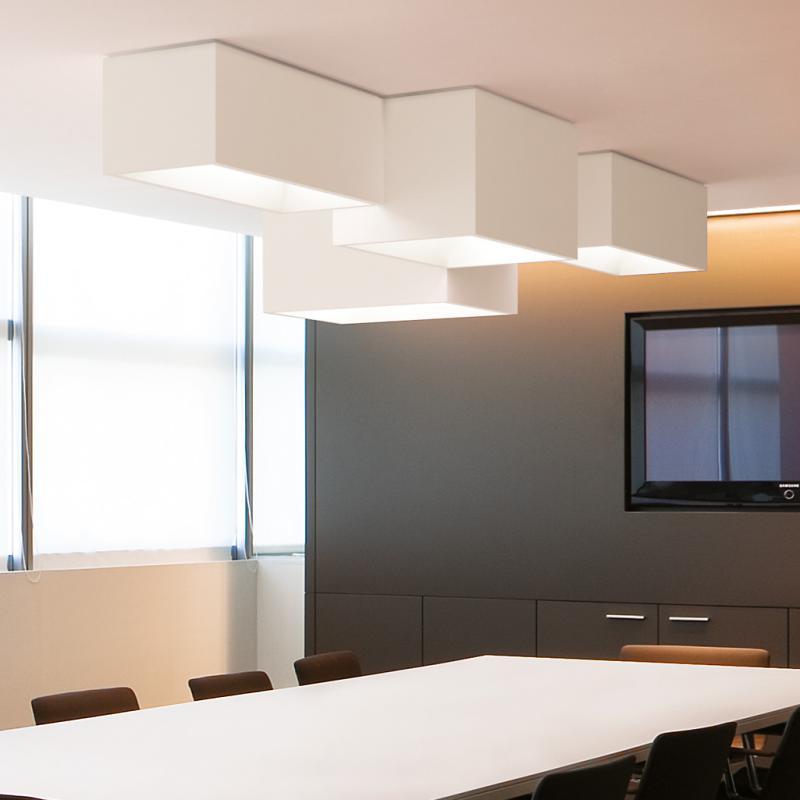 vibia link xxl led deckenleuchte rechteckig 535603 reuter. Black Bedroom Furniture Sets. Home Design Ideas