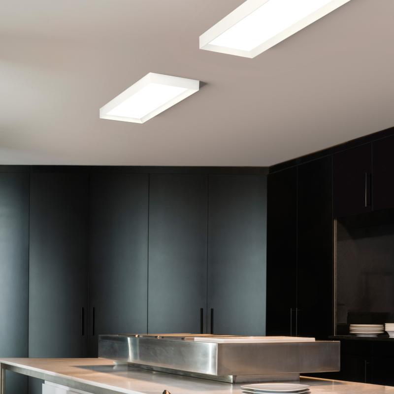 vibia up led deckenleuchte rechteckig 445293 1a reuter. Black Bedroom Furniture Sets. Home Design Ideas