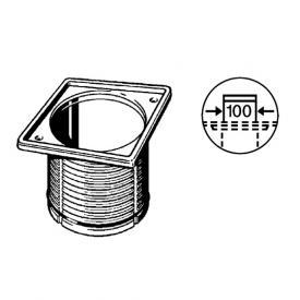 Viega Advantix-Aufsatzrahmen L: 10 B: 10 cm