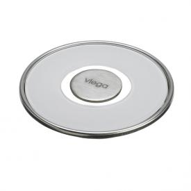 Viega Visign RS15-Rost Durchmesser: 11 cm, klar/hellgrau