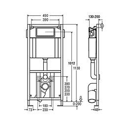 Viega Eco WC-Element 2S BH 113