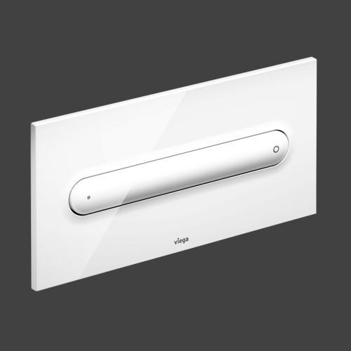 Viega Visign for Style 11-Betätigungsplatte aus Kunststoff 8331.1 weiß