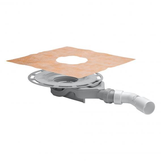 Viega Advantix-Badablauf Grundkörper ohne Aufsatz, Ablauf waagerecht