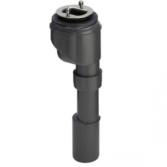 Viega Domoplex Ablaufgarnitur für Duschwannen mit Ø 52 mm Ablaufloch, Abgang senkrecht