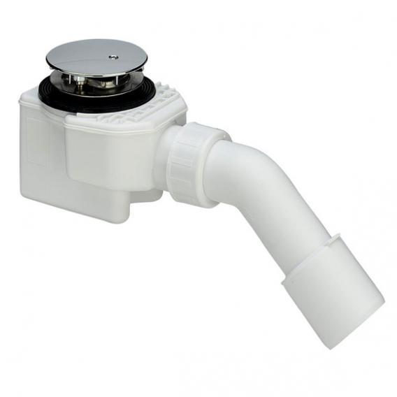 Viega Domoplex Ablaufgarnitur für Duschwannen mit Ø 52 mm Ablaufloch, Komplett-Set