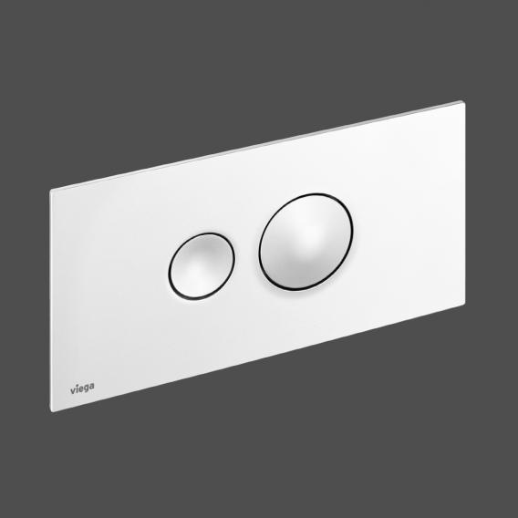 Viega Visign for Style 10-Betätigungsplatte aus Kunststoff 8315.1 weiß