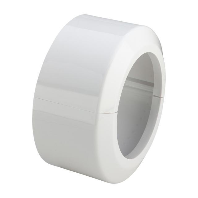Viega 2-teilige Rosette für WC-Anschlussbogen und -stutzen