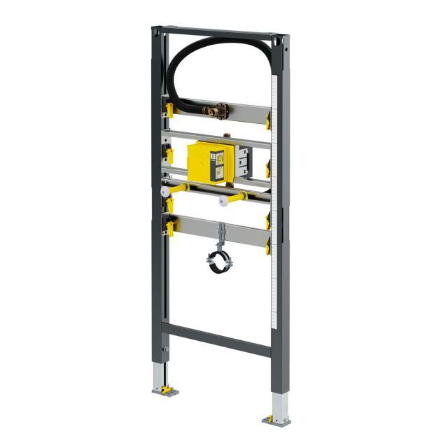 Viega Prevista Dry Urinal-Montageelement H: 130 - 112 cm, für verdeckte Spülauslösung