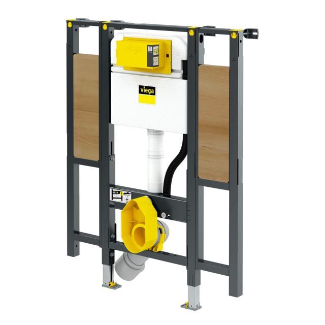 Viega Prevista Dry Wand-WC-Montageelement, H: 112 cm, Keramikhöhe verstellbar, für Stützgriffe