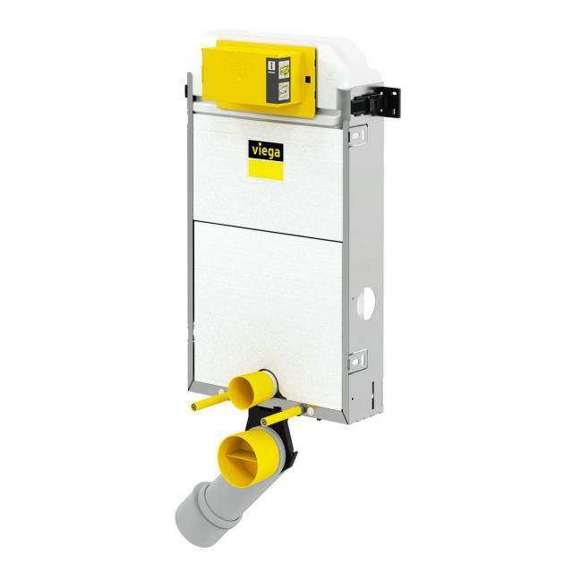 Viega Prevista Pure Wand-WC-Montageelement, H: 107,7 cm, mit Lüfteranschluss