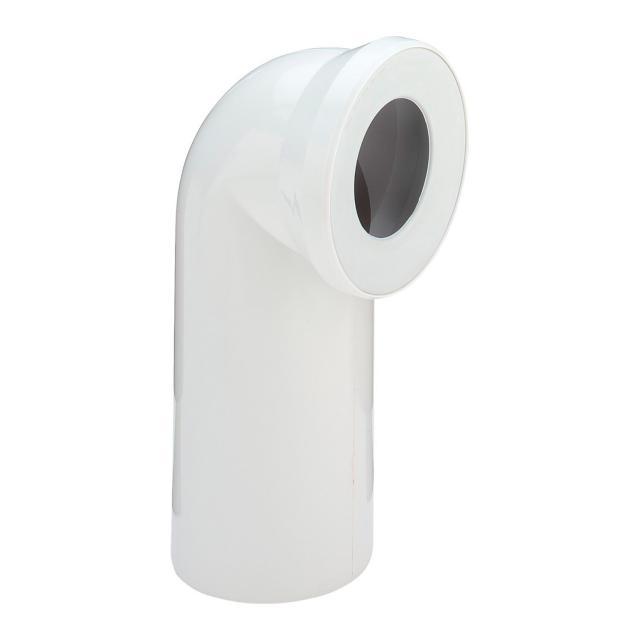 Viega WC-Anschlussbogen 90°, weiß