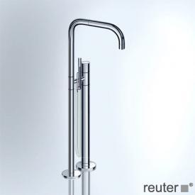 Vola FS1 Wannenfüll- und Brausearmatur für freistehende Montage inkl. Verlängerung 3 cm chrom