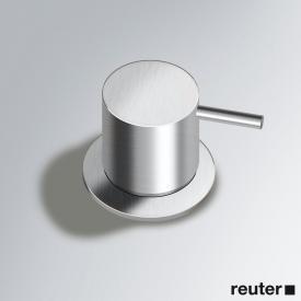Vola S50 Untertischventil für Wasch-oder Geschirrspülmaschinen Betätigungshebel: 25 mm, edelstahl