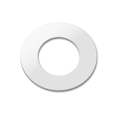 Vola 001G Abdeckrosette für Auslaufmuffe, Innen Ø 33 mm chrom