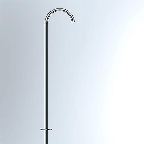 Vola 090FM/800 Schwenkauslauf für Bodenmontage, Rohrdurchmesser: 24 mm chrom