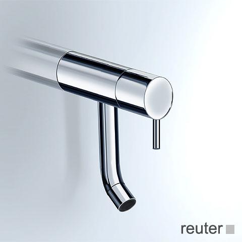 Vola RB4 Wandauslaufventil mit festem Auslauf Ausladung: 120 mm