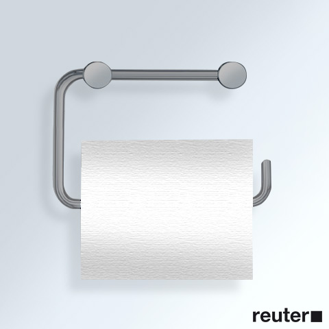 Vola T12BP Papierhalter für eine WC-Rolle edelstahl gebürstet