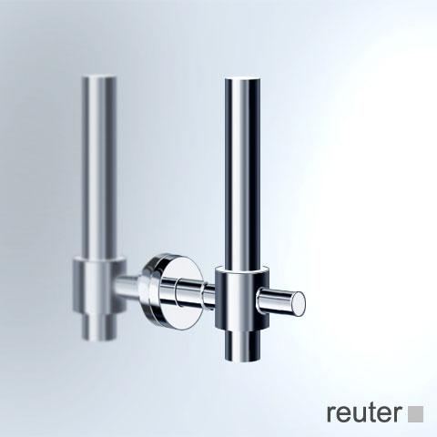 Vola T14 Reservepapierhalter für eine WC-Rolle chrom