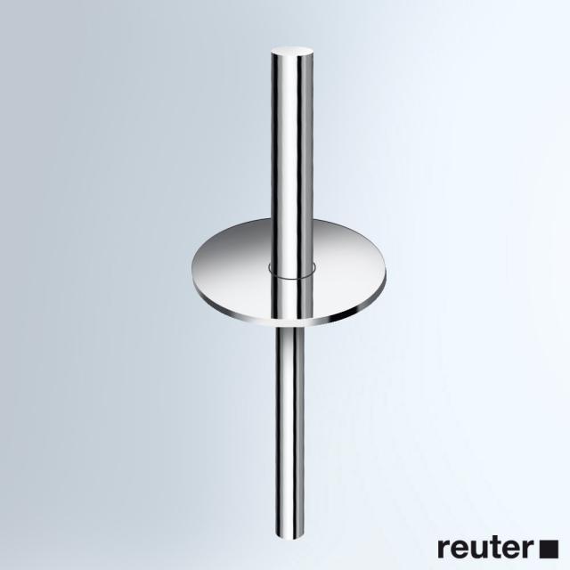 Vola VR891 Griff mit Deckel, komplett für WC-Bürstengarnitur T33 chrom
