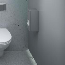 Wagner-Ewar A-Linie Toilettenpapierhalter mit Reserverolle edelstahl gebürstet