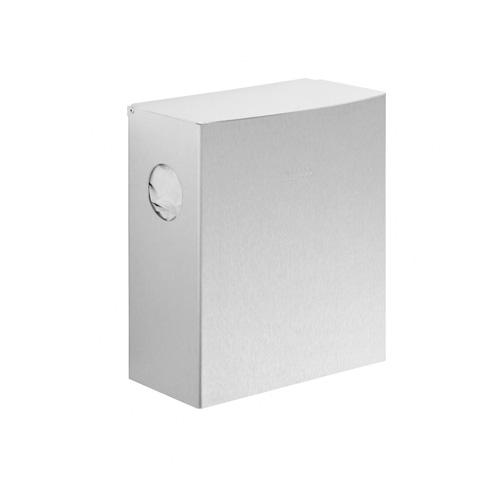 Wagner-Ewar Hygienebeutelabfallbehälter WP 177 für Aufputzmontage edelstahl matt geschliffen