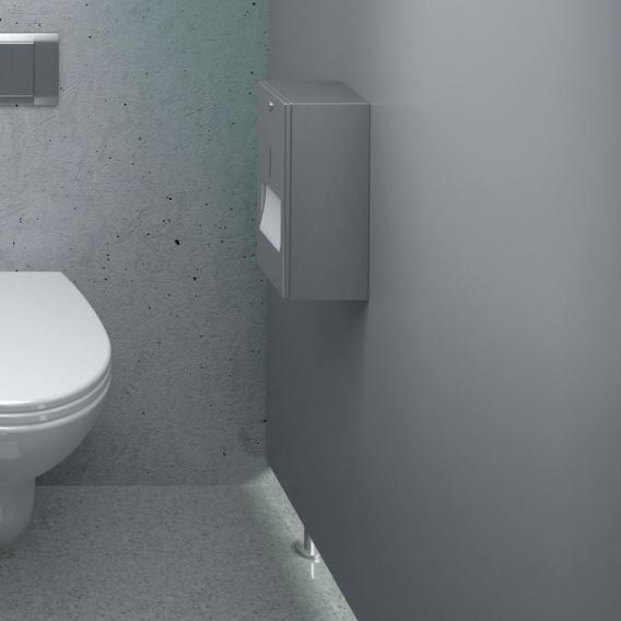 Wagner-Ewar Toilettenpapierhalter mit Reserverolle WP 164 edelstahl matt geschliffen