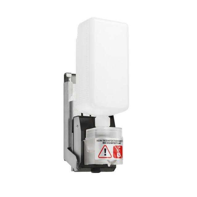 Wagner-Ewar A-Linie Einbau Sensor-Seifenspender hinter Spiegel mit Seifenflasche
