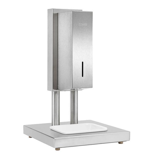 Wagner-Ewar A-Linie freistehende Hygienestation mit Sensor-Desinfektionsmittelspender, Tischmodell