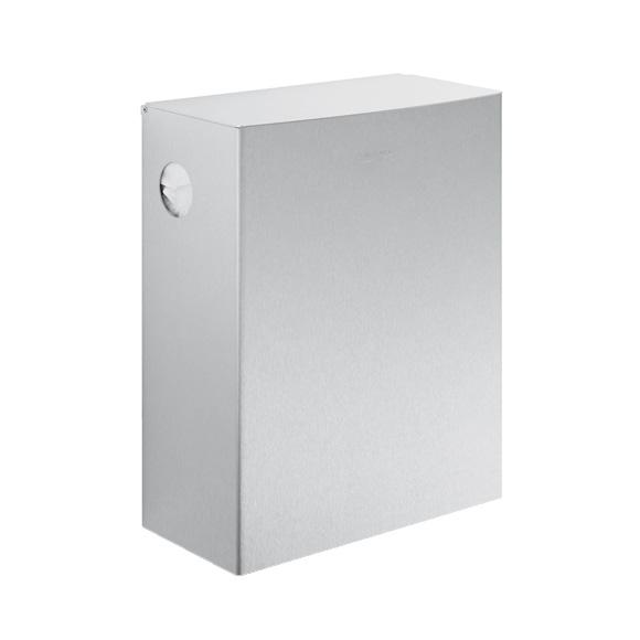 Wagner-Ewar A-Linie Hygieneabfallbehälter mit Hygiene-Beutelspender 12 Liter edelstahl gebürstet