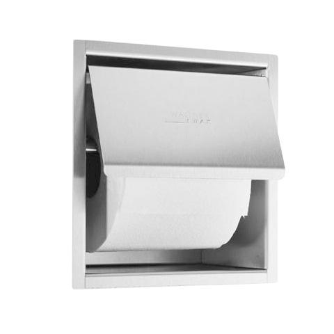 Wagner-Ewar A-Linie Unterputz Toilettenpapierhalter edelstahl gebürstet