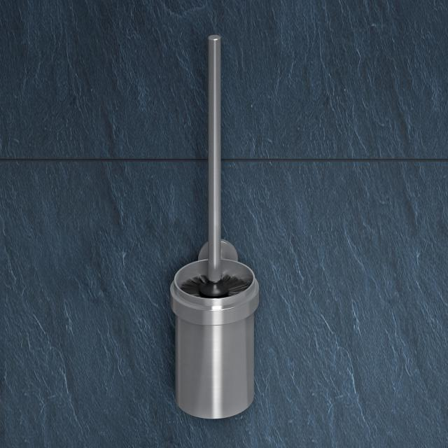 Wagner-Ewar AC WC-Bürstengarnitur edelstahl gebürstet