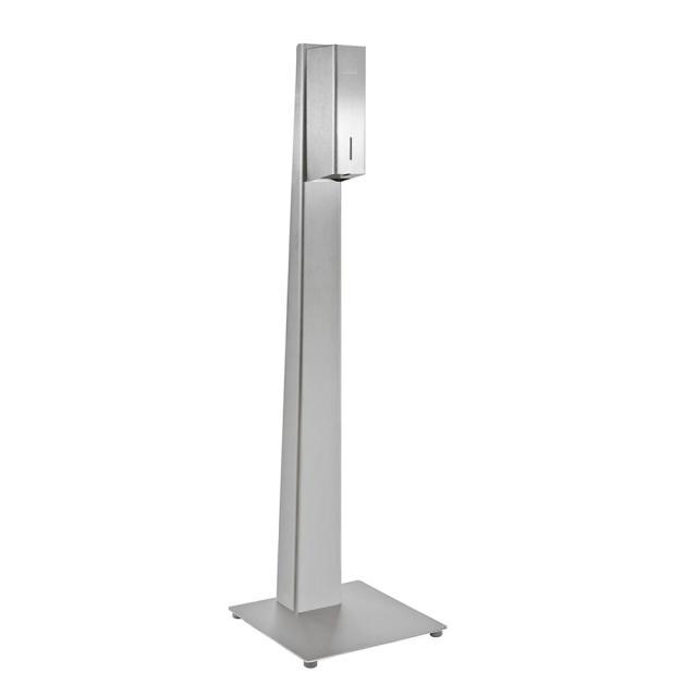 Wagner-Ewar P-Linie freistehende Hygienestation mit Sensor-Desinfektionsmittelspender, Bodenmodell