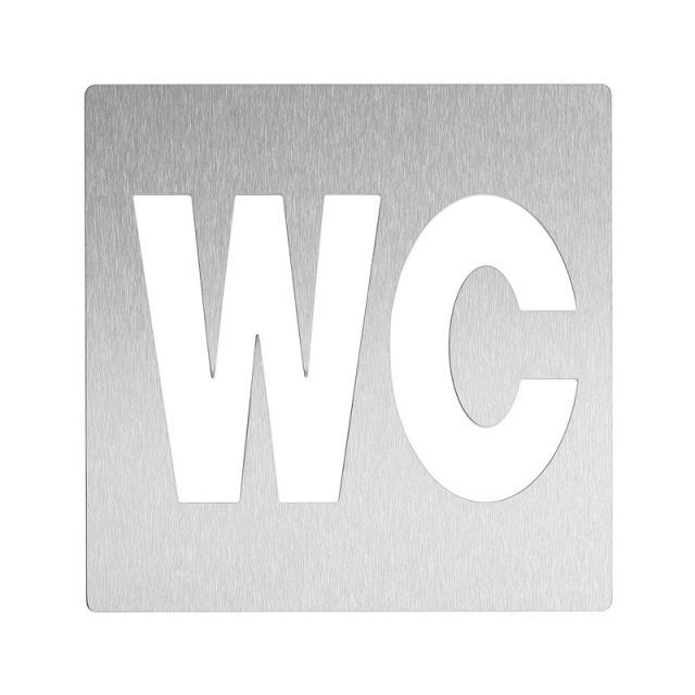 """Wagner-Ewar Piktogramm """"WC"""" zum Kleben"""