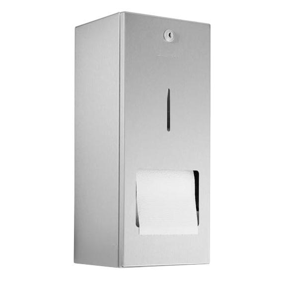 wagner ewar toilettenpapierhalter mit reserverolle wp 164 edelstahl matt geschliffen 727200. Black Bedroom Furniture Sets. Home Design Ideas