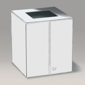 WINDISCH Box Kenia Badeimer chrom/weiß