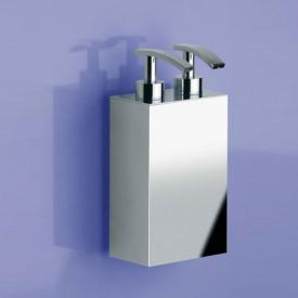 WINDISCH Box Metal Lineal Wand-Doppelseifenspender chrom