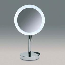 WINDISCH Universal Stand-Kosmetikspiegel, mit LED Beleuchtung