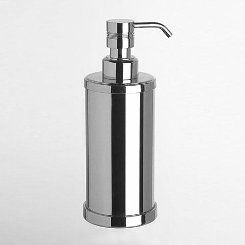 WINDISCH Cylinder Ribbet Seifenspender chrom