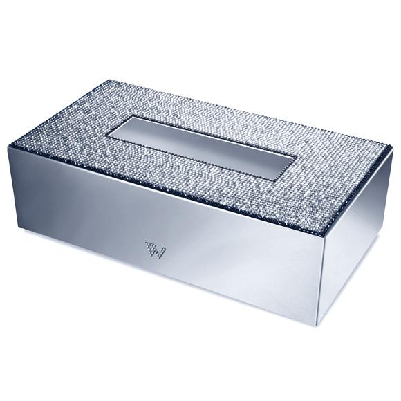 WINDISCH Star Light Square Kleenex-Box chrom