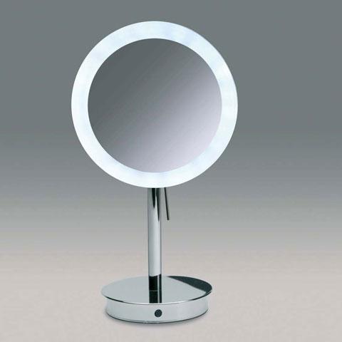 WINDISCH Universal Stand-Kosmetikspiegel, mit LED u. Sensor
