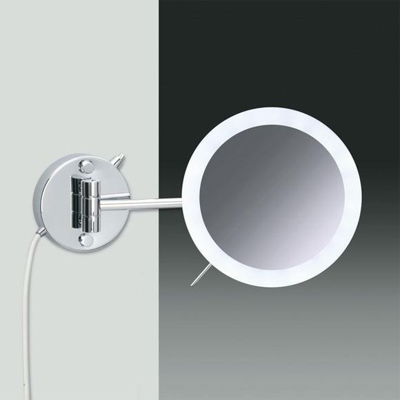 Neu WINDISCH Universal Wand-Kosmetikspiegel, mit LED-Beleuchtung  QB91