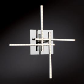 Wofi Orbit LED Wandleuchte 4-flammig mit Ein-/Ausschalter