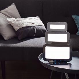 Wofi Saga LED Tischleuchte mit Dimmer