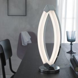 Wofi Vannes LED Tischleuchte mit Dimmer