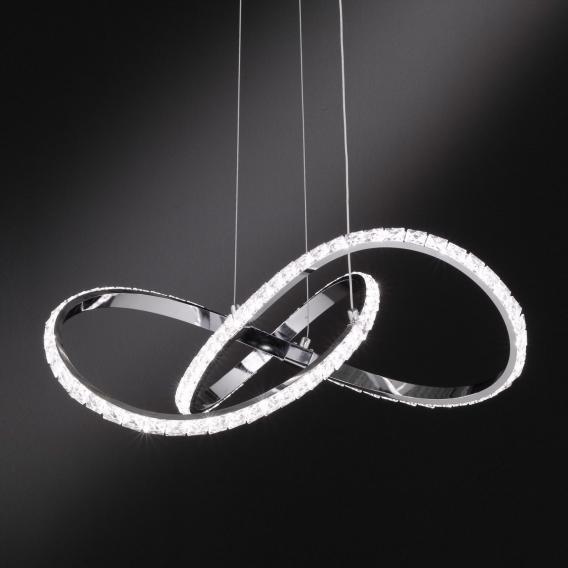 Wofi Prisma LED Pendelleuchte mit Dimmer