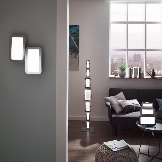 Wofi Saga LED Stehleuchte mit Dimmer